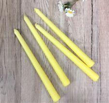 2 Pack Gisela Graham Set of 4 Green Taper Candles, 25 Cm New
