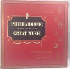 Philharmonic Family Library of Great Music album 1, 33RPM, LP, VG+, 1950