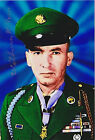 M/Sgt Wilburn Ross Signed 4x6 Photo CMOH World War II US Army Germany JFK