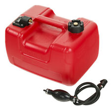 Portable Boat Fuel Tank 12L 3.2 Gallon Marine Outboard Fuel Tank With Connector