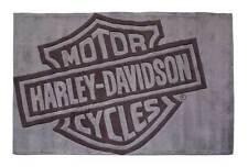 Harley-Davidson Bar & Shield Small Area Rug, Handmade Tufted Rug HDL-19503