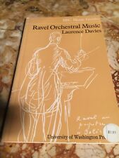 Ravel Orchestral Music Laurence Davies BBC music guides 1971. BBC-15