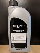 Genuine Triumph HD4X Hybrid OAT Coolant suitable for all models 1 Litre A9610046