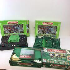 Vintage Retro Subbuteo Job Lot Bundle Collection Teams Games Boxed RARE