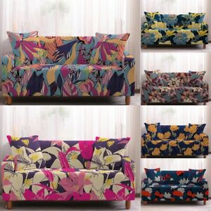Sofa Seat Cushion Covers 2 3 4 Seater Stretchable Slip Covers for Recliners Sofa