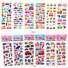 3D Kids Paper Crafts Traffic Study Sticker Lot Of 12 Kids  Amazed Party Gift