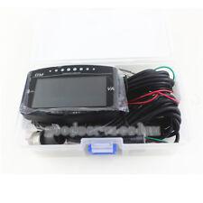 6 Function 12v/24v Truck Car LCD Digital Oil Pressure Gauge + Volt Voltmeter