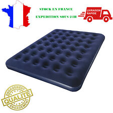 Matelas Gonflable Lit D'appoint 2 Personnes 191x137x22 cm Camping Couchage NEUF