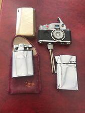 More details for vintage lighters -ronson ,sim ,tanita (japan) ,camera design - not tested/parts