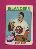 1975-76 OPC # 372 ISLANDERS BILL SMITH CREASED CARD (INV#4837)