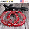 US 104/64bcd 170mm Crank MTB Bicycle Single Chainring 32-52T Round Oval Crankset