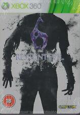Resident Evil 6 Steelbook Edition XBOX 360, NEU & OVP