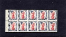 U.S. Savings Stamp - S6a - Booklet - Mint - Nh - F-Vf Strong perfs - no folds