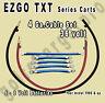EZGO TXT Golf Cart 36 Volt 4 Gauge HEAVY DUTY Battery Cable Wiring Set