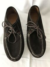 Hush Puppies Briggs Portland Mens Dark Brown Suede 11 Extra Wide Casual Shoes