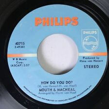 Rock 45 Mouth & Macneal - How Do You Do? / Land Of Milk And Honey On Philips