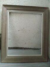 cadre bois patiné doré feuillure 41 cm x 33 cm  format 6F frame