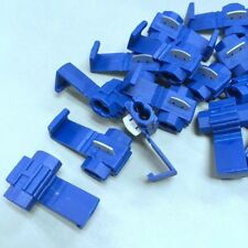 50 x 3MB BLUE QUICK SPLICE WIRE AWG 18-14 Stripping TAP Connector #Agtc