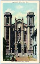 SAN SALVADOR, EL SALVADOR, Central America  IGLESIO del CALVARIO Church Postcard