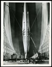 1936 Zeppelin LZ 129 Hindenburg Airship German Hangar Type 1 Original Photo