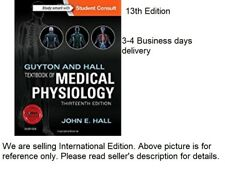 GUYTON & HALL TEXTBOOK OF MEDICAL PHYSIOLOGY,13/E by HALL JOHN E.