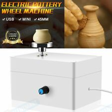 Mini Electric Pottery Wheel Ceramic Work Clay Art Craft Production Machine Us