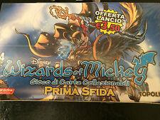 WIZARDS OF MICKEY Gioco Di Carte Collezionabili Card PRIMA SFIDA Box