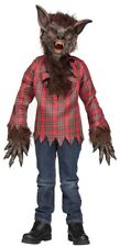 Costumes for All Occasions Fw5813brlg Werewolf Child Large Brown