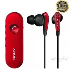 SONY Earphone MDR-EX31BN R Wireless Noise Canceling Canal Type Bluetooth Red NEW
