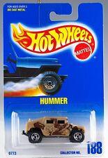 Hot Wheels Collector #188 Hummer SB's No Star On Hood MOC