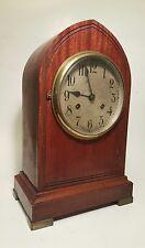 Antique Gustav Becker Mantle Clock: 5 Bar Chime, key, working!!