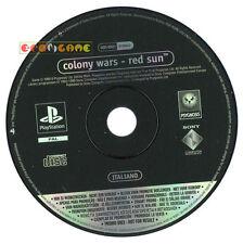 COLONY WARS RED SUN Ps1 Versione Promo Italiana gioco completo »»»»» SOLO DISCO