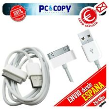 R781 Pack 2 cables USB datos y carga para iPhone 4S 4 3GS 3G iPod touch iPad 2 1