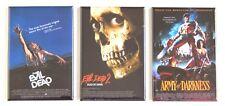 Evil Dead Trilogy FRIDGE MAGNET Set (2 x 3 inches each) movie poster