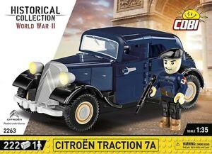 Cobi 2263 - Historical Collection - 1/35  1934 Citroen Traction 7A - Neu
