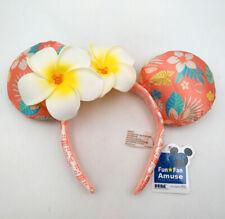 Disney Parks Minnie Ears Aulani Hawaii Exclusive Plumeria Disneyland Headband