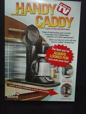 Handy Caddy Sliding Counter Tray for Coffee Machine Toaster & more As Seen on Tv