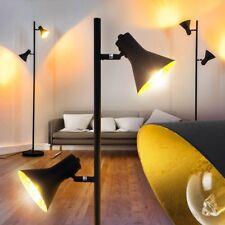 Lampadaire noir Lampe de lecture Retro Lampe de chambre à coucher Métal 163025