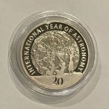 2008 Year of Astronomy PROOF 20 Cent Coin - Only 11,500 made CV$35 Very Scarce