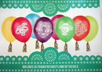 DAY OF THE DEAD BALLOON DECORATING KIT HALLOWEEN FIESTA MEXICAN PARTY DECORATION
