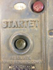 Vintage Industrial Machinery Switch
