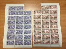 1936 New Zealand Chambers of Commerce Assorted Sheets of Mint Stamps All Denoms