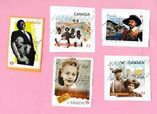 Stamps BLACK HISTORY Canada Viola Desmond Mathieu da Costa Africville Hogan BLM