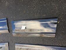 Lincoln FORD OEM 2002 Blackwood REAR LEFT DOOR-Body Side Molding USED