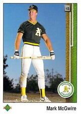 1989 Upper Deck Baseball - Pick A Player - Cards 201-400