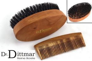 Dr.Dittmar Set: Hair Brush Comb Men's Body Brush Thinning Hair Soft Bristle