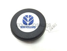 New Holland Harvester Steering Wheel Centre Mounted Makers Badge - 5167653