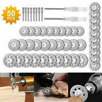 40 Cutting Wheel Set for Mini Drill for Dremel Rotary Tool Accessories w/Mandrel