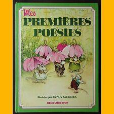 MES PREMIÈRES POÉSIES poèmes comptines C. Szekeres 1983