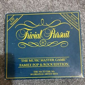 Trivial Pursuit The Music Master Game CD Version